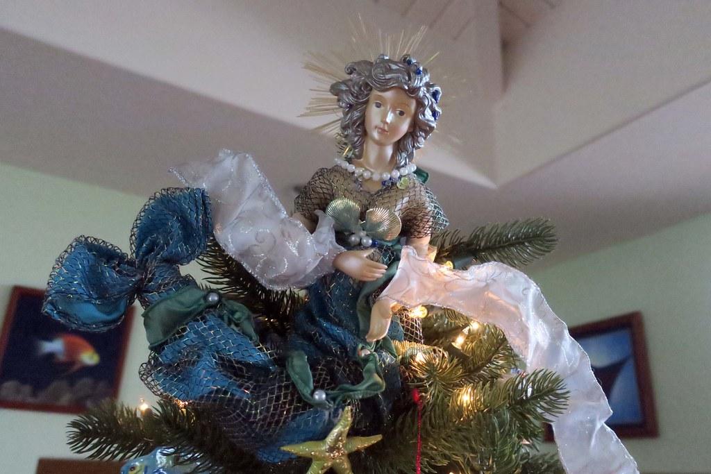 mermaid tree topper | by BarryFackler mermaid tree topper | by BarryFackler - Mermaid Tree Topper BarryFackler Flickr