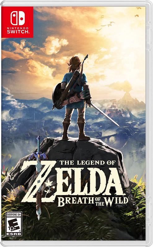 Box Art The Legend of Zelda: Breath of the Wild - Nintendo Switch