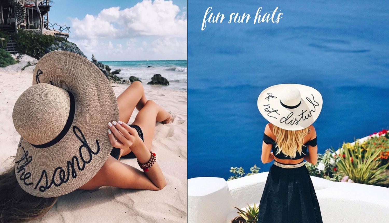 Do not disturb script beach hat