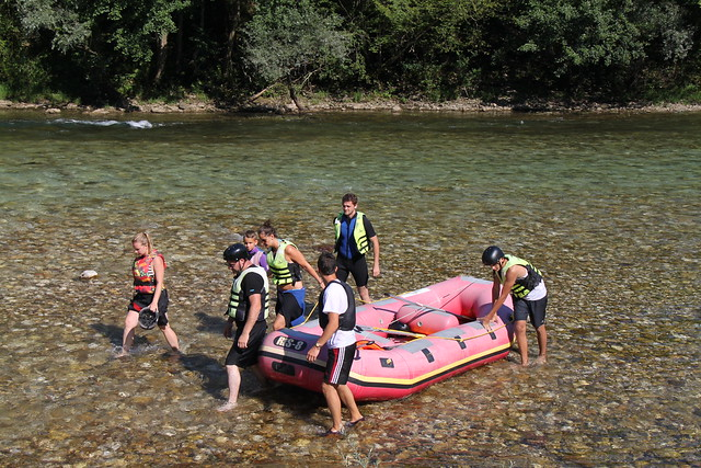 rafting in bosnia