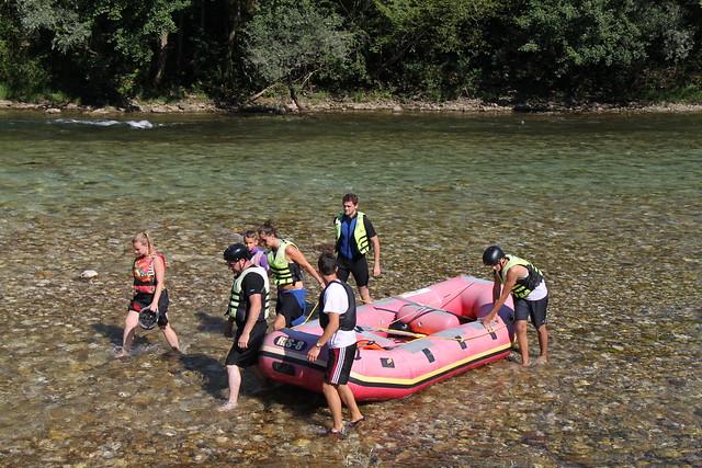 rafting in bosnia