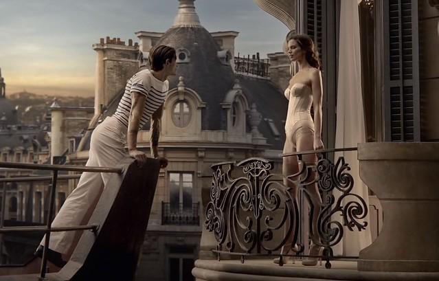 Rianne_ten_Haken_anuncio_Gaultier