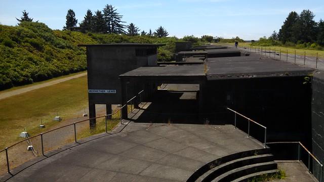 Fort Stevens: West Battery