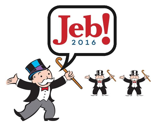 Jeb Bush: Just Like You, If you're Rich.