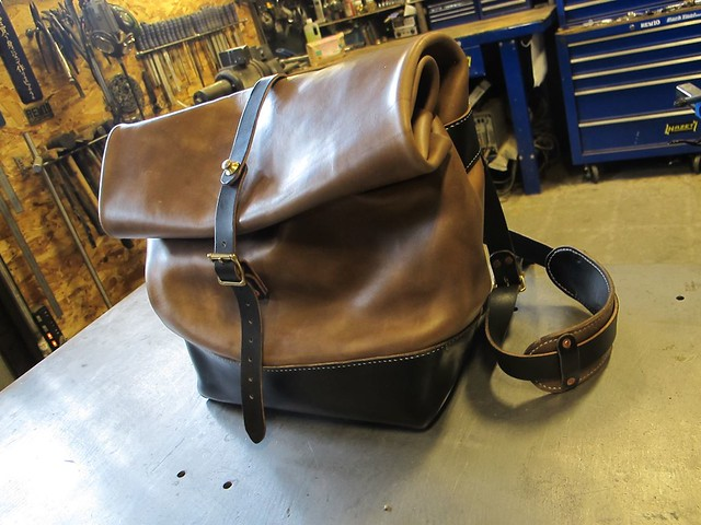 Rew10made Leather bag
