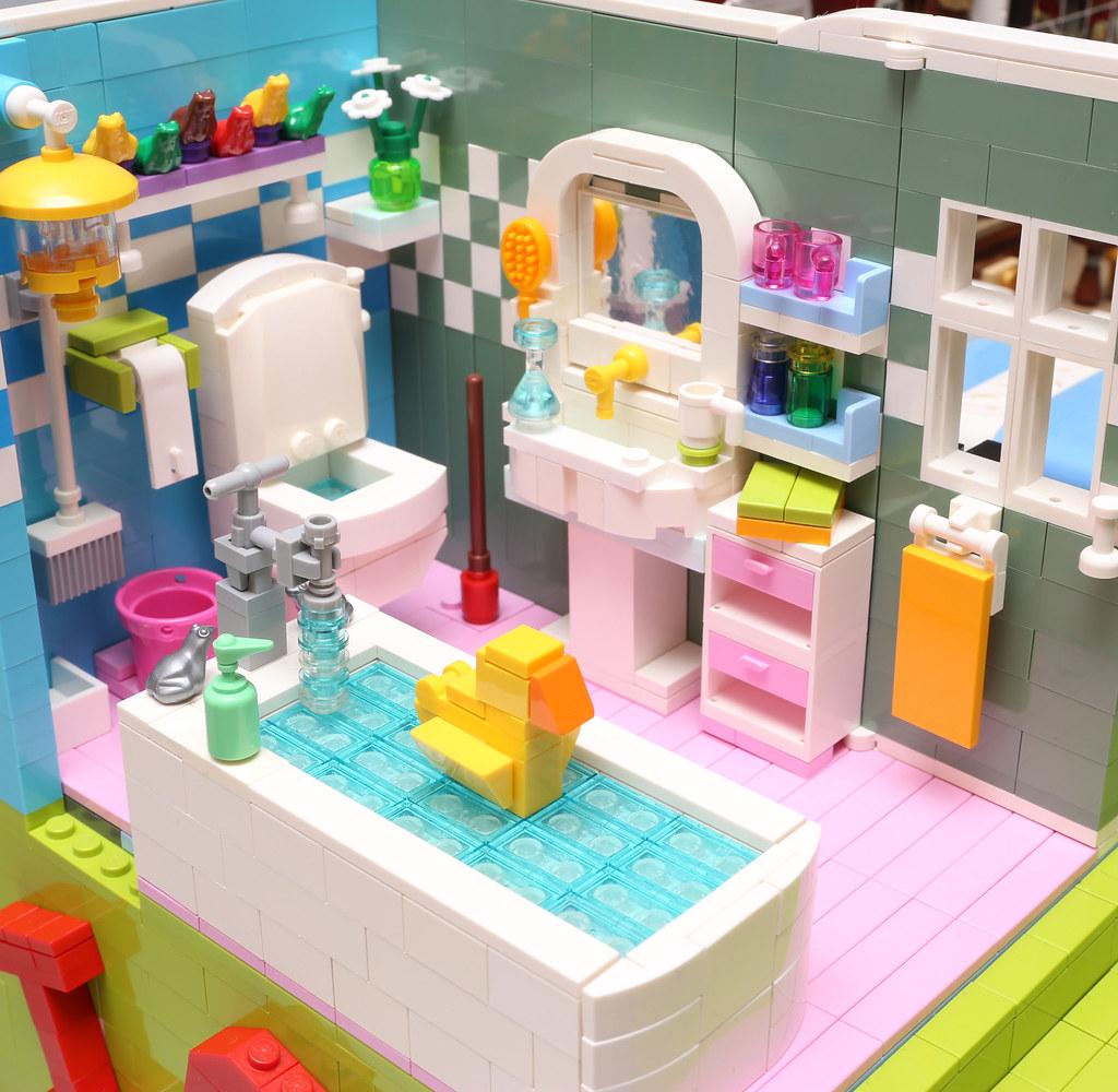 Merveilleux ... LEGO Dream House   Bathroom | By Alanboar