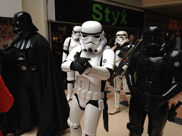 Preston Comic-Con 2015 - Star Wars Darth Vader & Stormtrooper