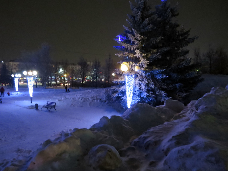 Новогодние фонари