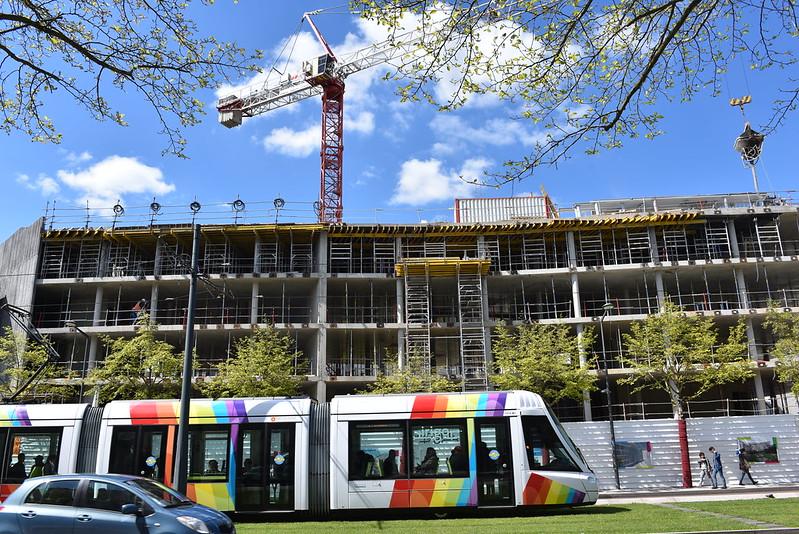 Construction du Centre d'activités Foch