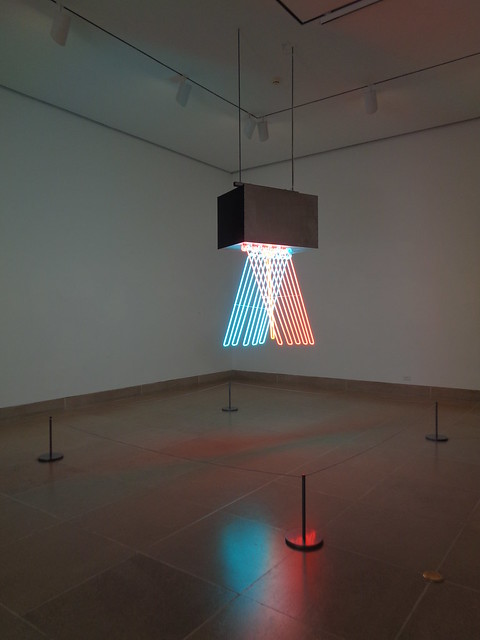 Stephen Antonakos Neon, Dallas Museum of Art