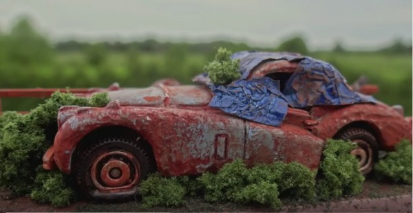 How to make a Barn Find Die-cast Car