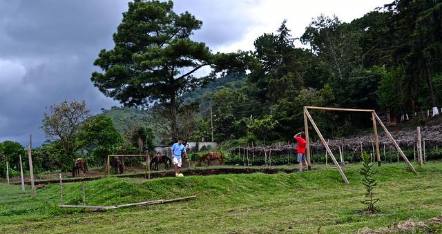 futbol field -  La Ruta del Yalu