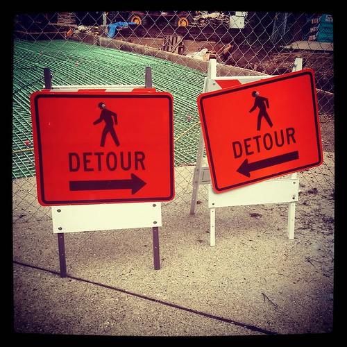 Umm... #Detour?
