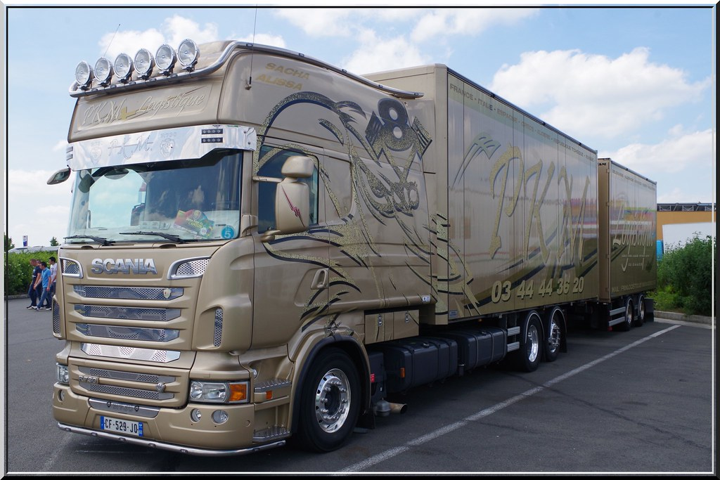 Scania R730 Topline Longline Pkm Logistique Noyon F 02