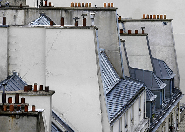 Michael Wolf - Paris Rooftops