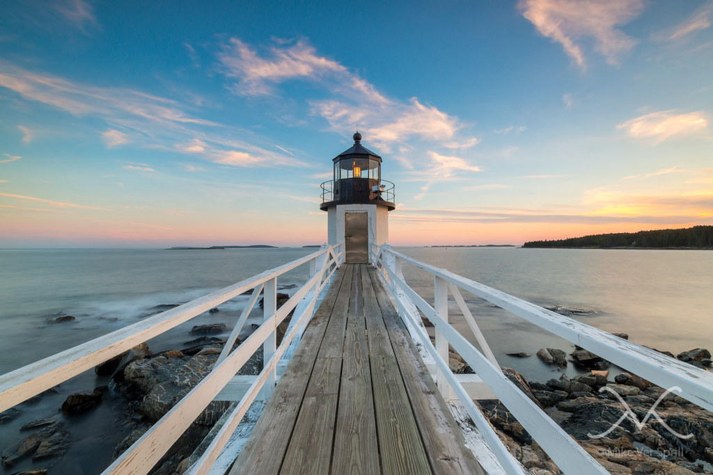 Marshall Point Lighthouse Sunset Work For Sale Www