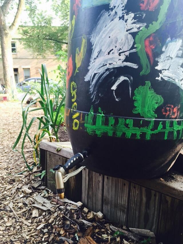 water barrel hook up