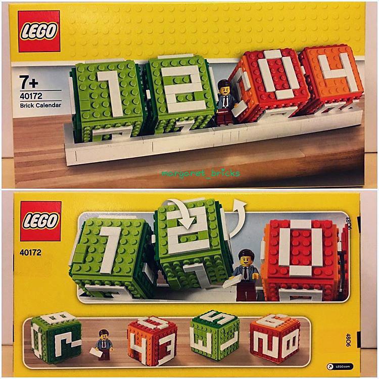 Lego Calendrier.Calendrier Lego 40172 Brick Calendar More On Www Hellobric