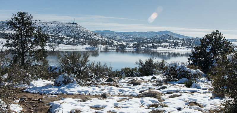 Snow at Watson Lake
