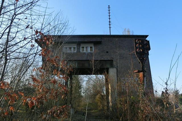 Stellwerk zwischen Siemensstadt und Gartenfeld