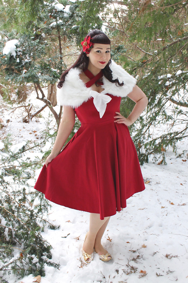 unique vintage red rita dress