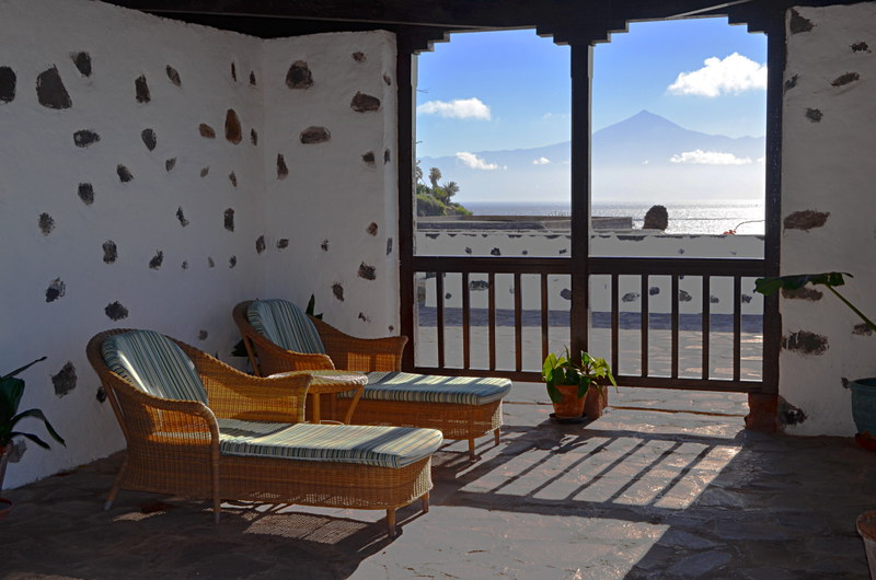 View from Parador, La Gomera, Canary Islands