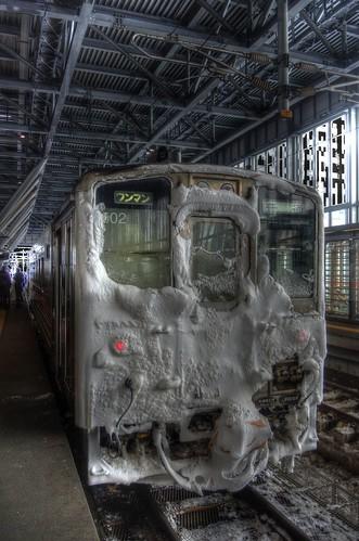 Asahikawa Station on JAN 07, 2017 vol03 (1)