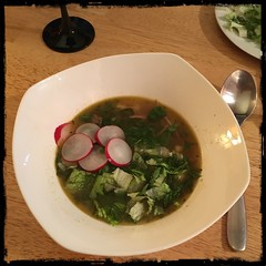 #pozole #mexican #soup #homemade #CucinaDelloZio - a little late night taste