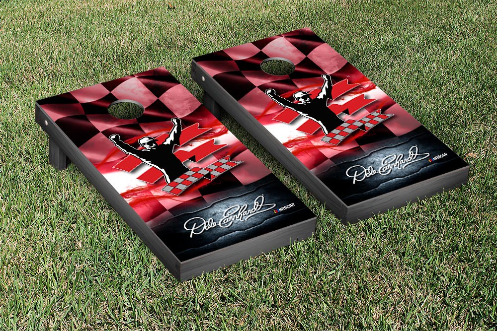 DALE EARNHARDT SR CORNHOLE GAME SET NIGHT LIGHT VERSION (1)