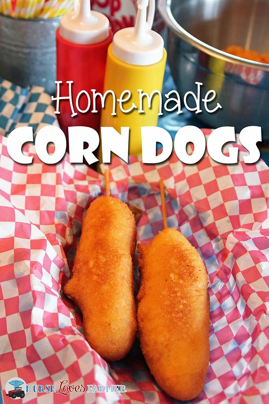 Homemade Corn Dogs. Golden, crispy carnival-inspired corn dogs are easy to make in the comfort of your own home. Step-by-step tips in this blog post.