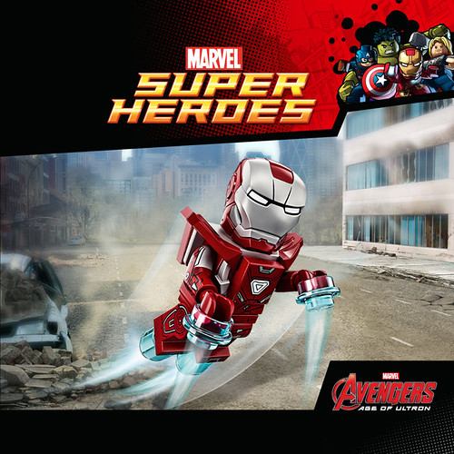 LEGO Marvel's Avengers The Silver Centurion Iron Man