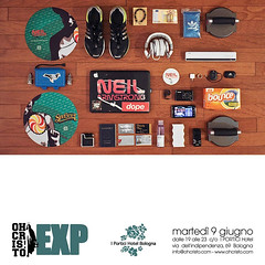 6/9 - DJNA's first trip to Bologna at EXP w/ oh!cristo!