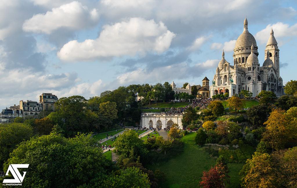 Les jardins du sacr coeur sacr c ur paris france for Le jardin paris 9