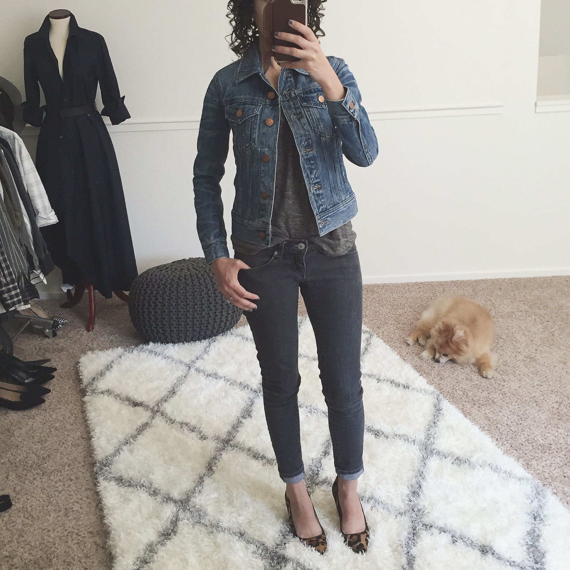Review J.Crew Denim Jacket petite