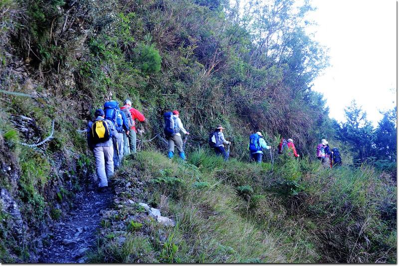 玉山登山步道 3