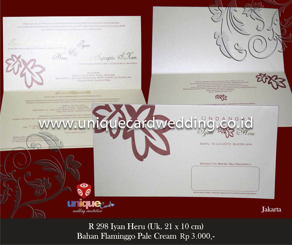 undangan pernikahan#Iyan Heru | wedding invitation,unique ca… | Flickr