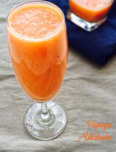 Papaya Milkshake 2