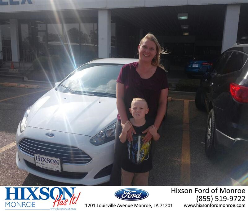 Hixson Ford Monroe >> Congratulations to Angela Meredith on your #Ford #Fiesta f… | Flickr
