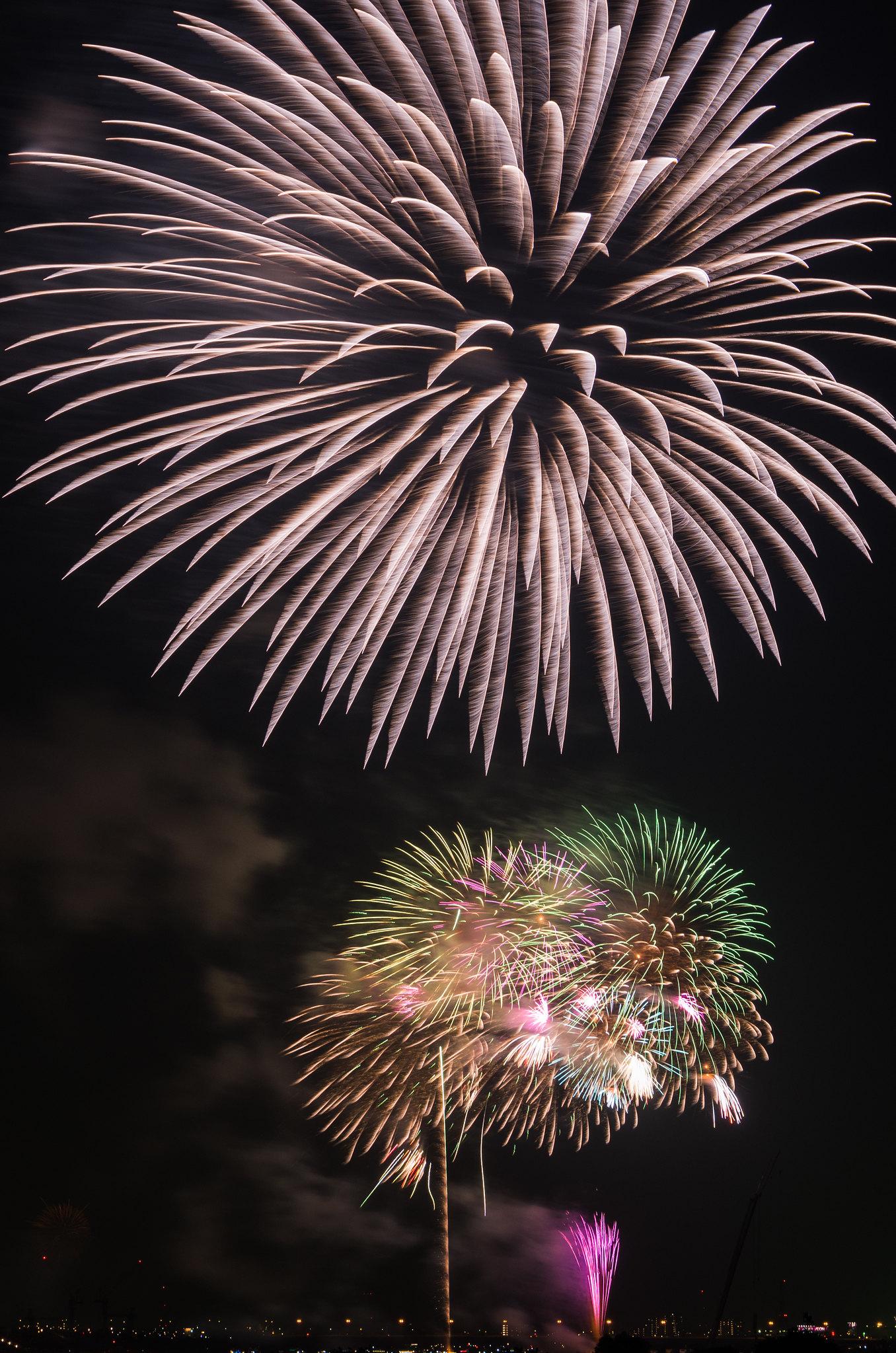 Edogawa Fireworks Festival 4
