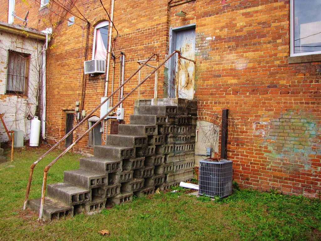 ... Cinder Block Stairs | By Gerry Dincher
