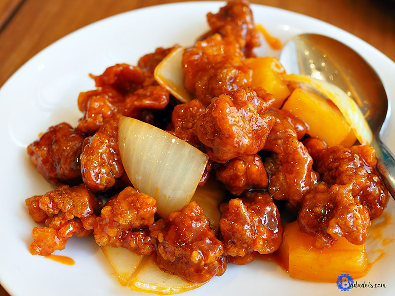 sweet and sour pork paradise dynasty