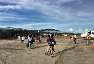 Coron - Busuanga airport arrival