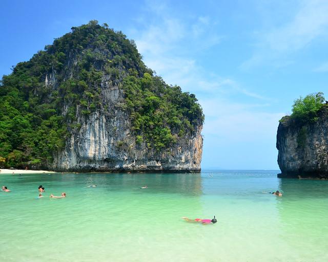 La playa de Koh Hong, de las playas más increíbles de Tailandia sin duda alguna