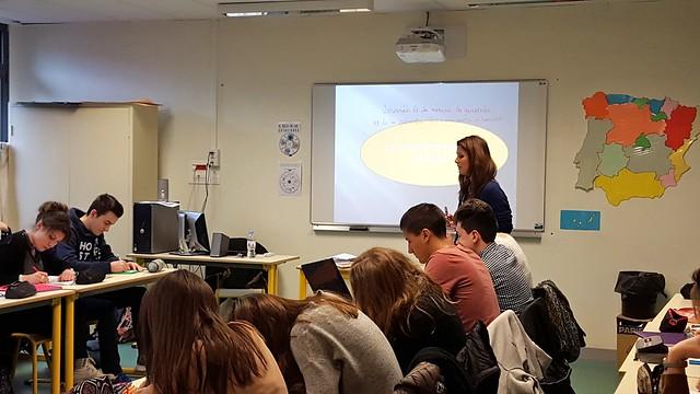 Une séance de travail sur la Seconde Guerre mondiale organisée au lycée Jérémie de La Rue