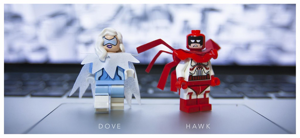 Dc Duet I Thought Of Hawk The Moment I Saw Calendar