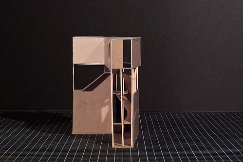 UG1 - Project 3 (Student Film & Architecture Gallery) - Study Model III | by gregory lee