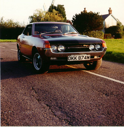 1974 Toyota Celica Ta22 Picture Taken Around 1990
