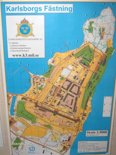 karlsborg karta Karta över Karlsborgs Fästning   oskar_krib  Flickr karlsborg karta