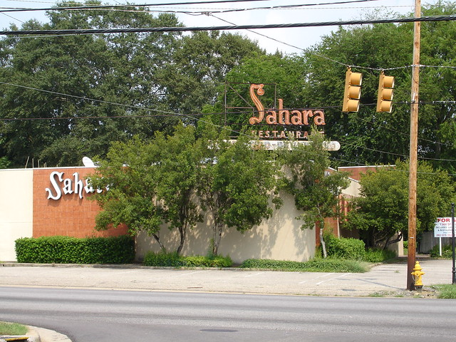 Sahara Restaurant Montgomery Al This Used To Be One Of My Flickr