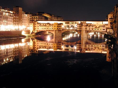 Florence by Night (Ponte Vecchio Bridge) | Some night shot ...